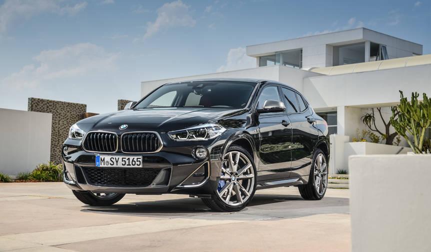 BMWコンパクトSUV「X2」にM35iと18dを追加|BMW