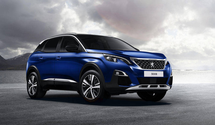 プジョー3008に400万円を切るディーゼル特別仕様車が登場 Peugeot