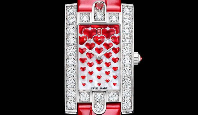 バレンタインに向けたロマンティックな限定モデル|HARRY WINSTON