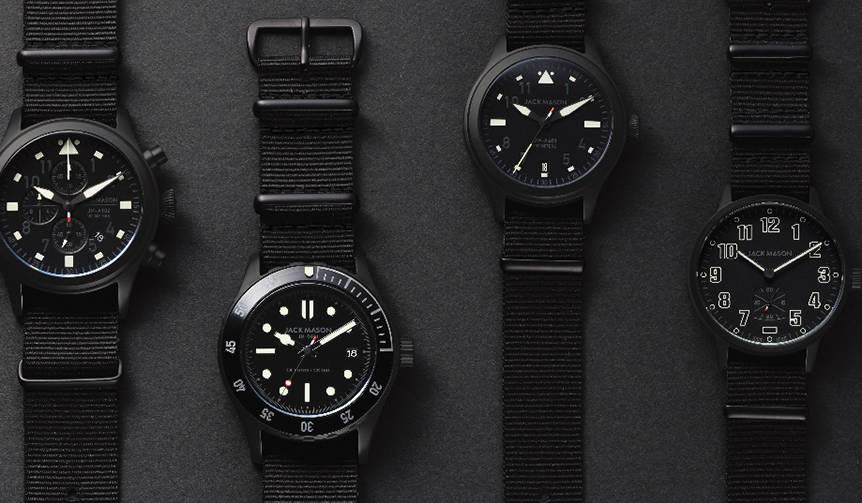 テキサス発の時計ブランドが日本限定の6モデルを発売 JACK MASON
