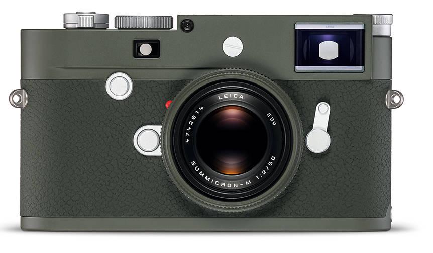 オリーブグリーンを纏ったライカの特別限定モデル Leica