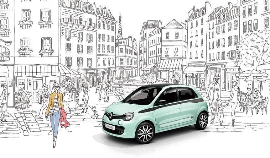 ルノー トゥインゴにパリジェンヌをイメージした限定車|Renault
