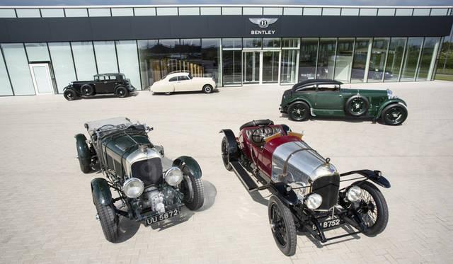 ベントレー創業100周年を記念して歴史的な記念モデルを展示 Bentley