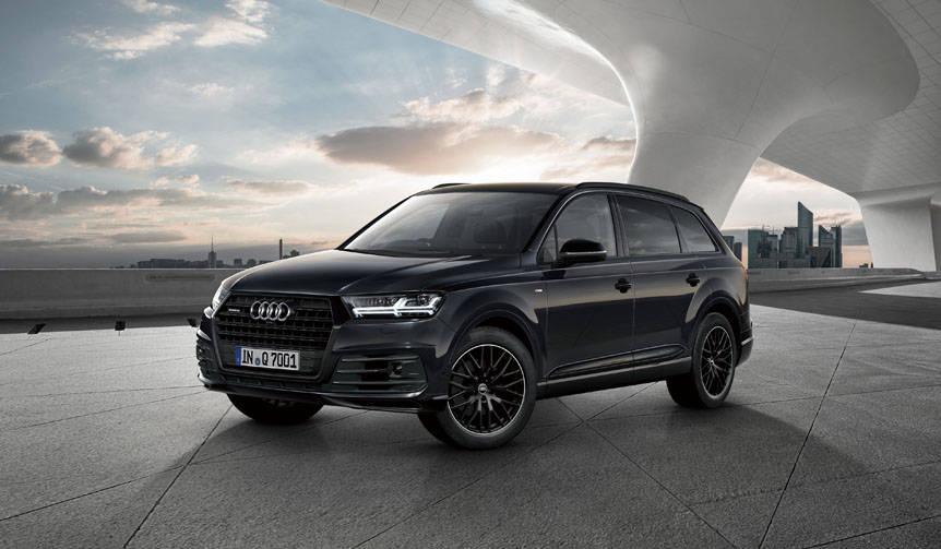 アウディQ7とQ2に、ブラックスタイリング限定モデル|Audi