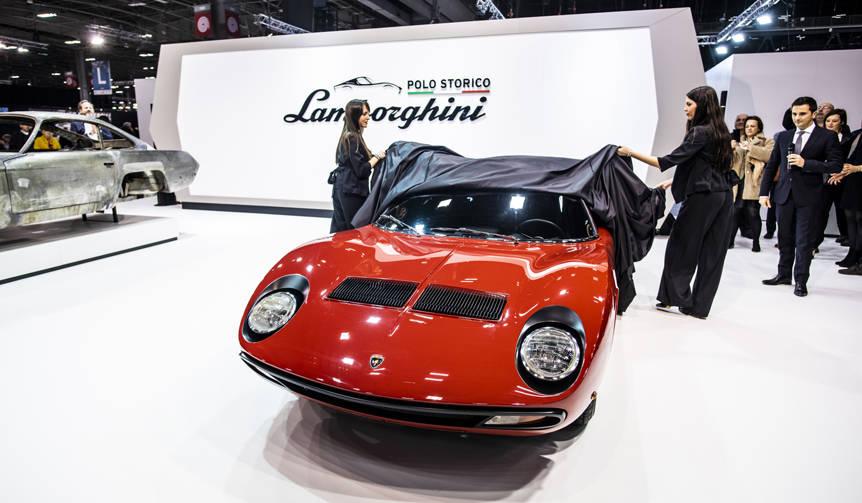 FIA会長ジャン・ドット氏所有のミウラSVを披露|Lamborghini - Web ...