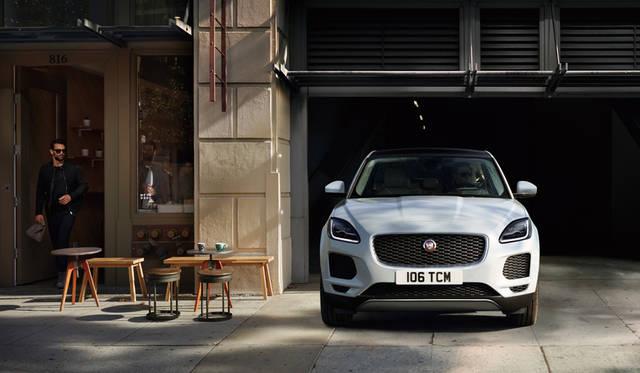 ジャガーのコンパクトSUV「E-PACE」に1周年記念モデル|Jaguar