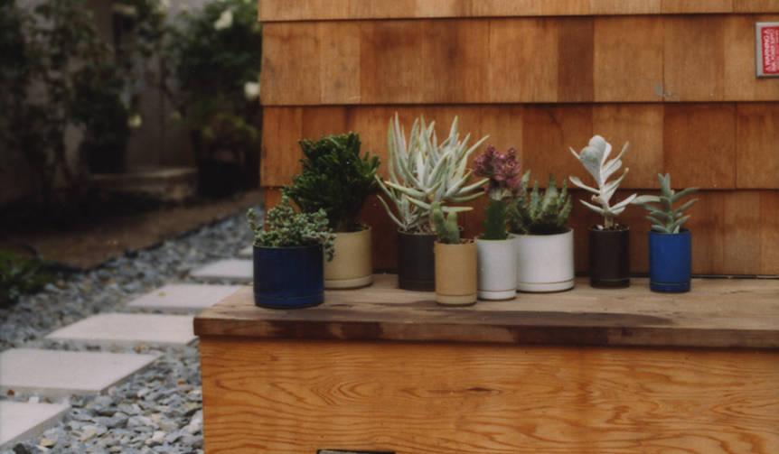 歴史ある陶磁器を現代風に。室内外で使えるプランター|Hasami Porcelain