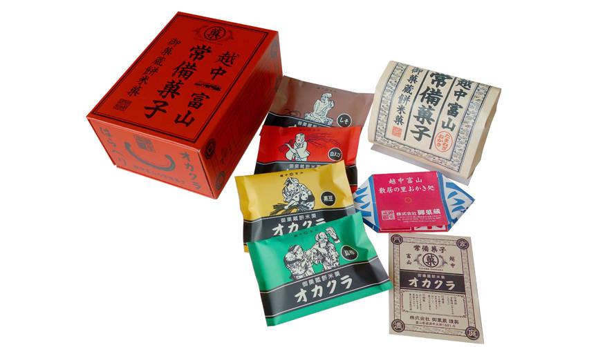 手土産にもぴったり。御菓蔵の「越中富山の常備菓子」 御菓蔵