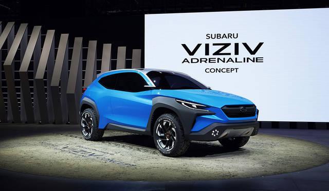 スバル、「BOLDER」デザインを反映させたコンセプトカーを世界初披露|Subaru
