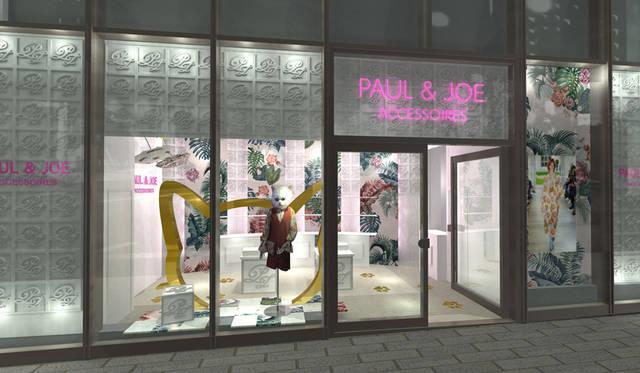 ポール & ジョー アクセソワのポップアップストアが展開中|PAUL & JOE ACCESSOIRES