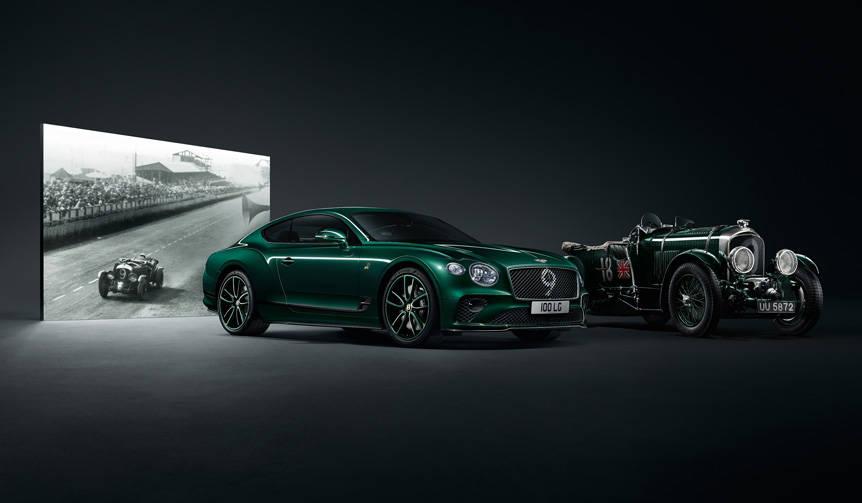 ベントレー100周年を記念した100台限定のコンチネンタルGT Bentley