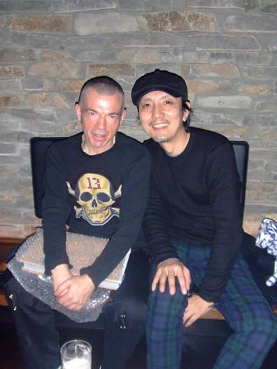 島津由行さんを訪ねて、PunkPistol氏がやってきた!