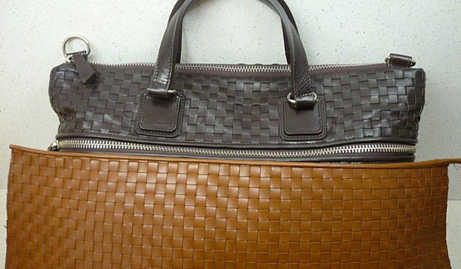 丹念な手の仕事が誇らしい、アルトプラティコのバッグ