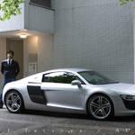 AUDI|アウディ|松井龍哉 vs アウディR8 「力のデザインとデザインの力」 TOP