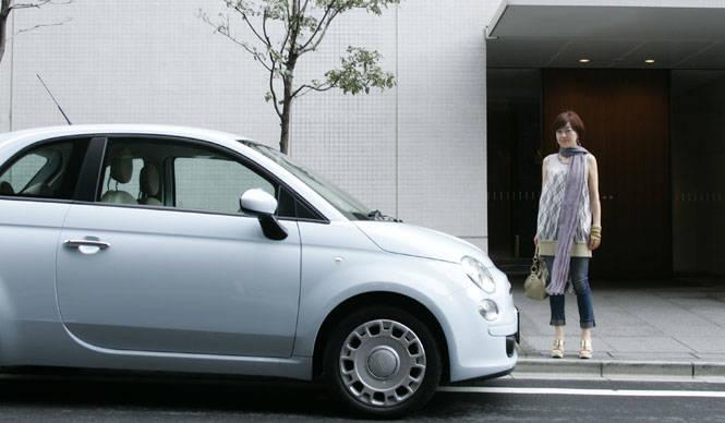 FIAT|ファイアット|柴田文江 vs フィアット500(1) 街で目にとまった、デザインの緻密感