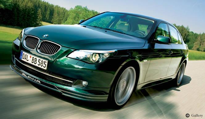 BMW ALPINA B5 S Limousine/Touring アルピナ独自の主張