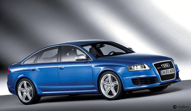 Audi RS 6 アウディの高性能セダン「RS 6」発表