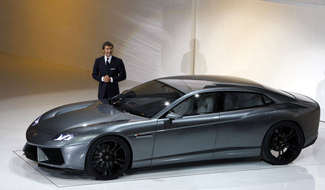 Lamborghini Estoque|ランボルギーニ初の4ドアセダン「エストック・コンセプト」発表