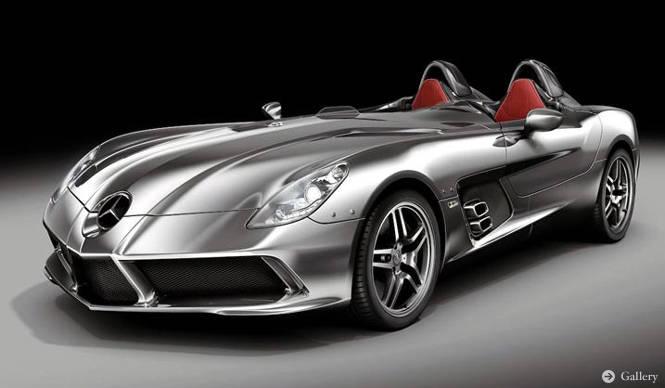 Mercedes-Benz|SLR スターリングモス 限定75台で登場 - Web Magazine ...