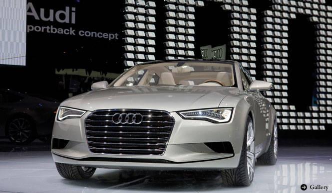 Audi Sportback Concept アウディ版4ドアクーペ、スポーツバック コンセプト