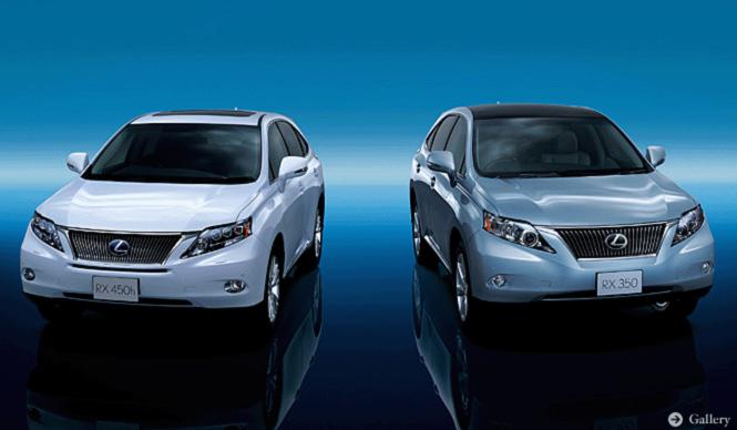 レクサス版SUV、RXがデビュー