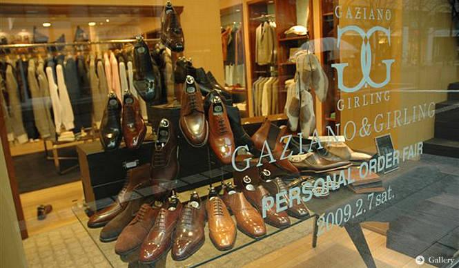 GAZIANO&GIRLING|ガジアーノ&ガーリング|パターンオーダー会開催