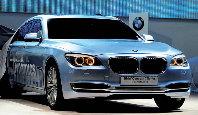 BMW Hybrid BMWのハイブリッドは2009年中に生産開始