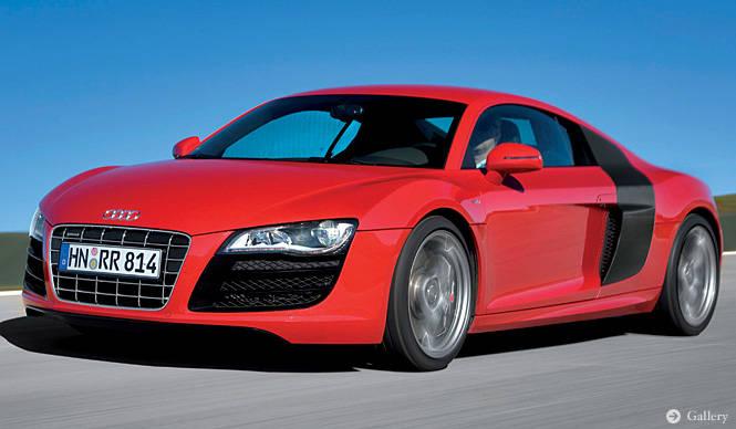Audi R8 V10|ランボの血を引くアウディ、欧州で4月にデビュー