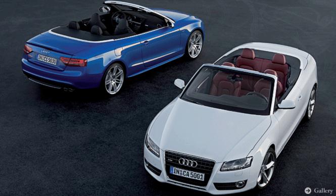 Audi A5/S5 Cabriolet|アウディが誇る新世代のカブリオレがデビュー