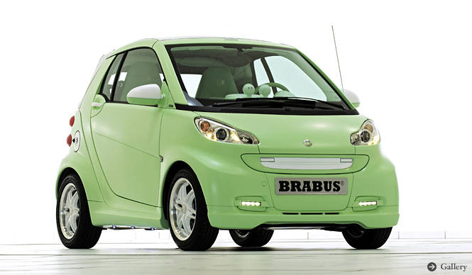 smart fortwo BRABUS electric drive|スポーティなエコ