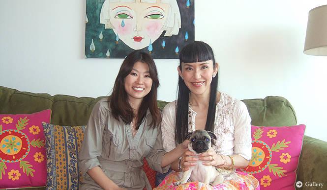 TOP ARTIST Interview in N.Y|MUNEMI meets RIMA FUJITA