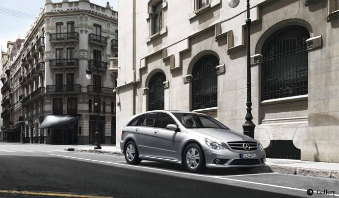 Mercedes-Benz|メルセデス・ベンツ Rクラスを一部改良