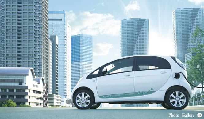 MITSUBISHI 新世代電気自動車、三菱「i-MiEV」発売!