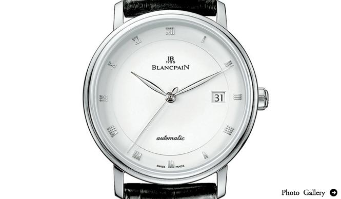 BLANCPAIN|ヴィルレ ウルトラスリム セコンドハンド デイト