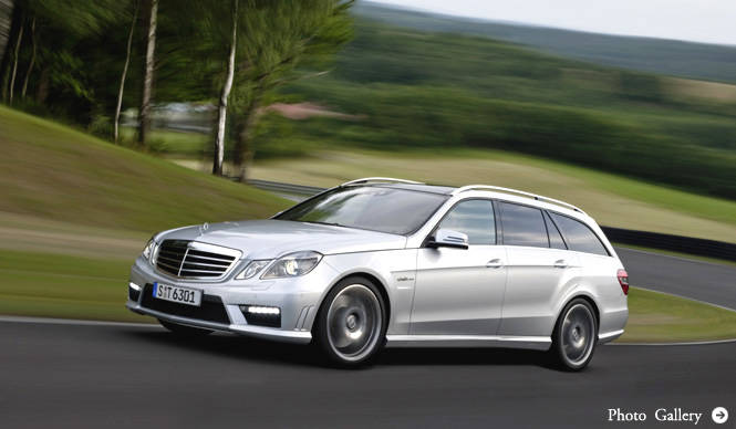 Mercedes-Benz E63 AMG Stationwagon|メルセデス・ベンツ E63 AMG ステーションワゴン