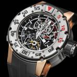 Richard Mille RM025 トゥールビヨン クロノグラフ ダイバーズ