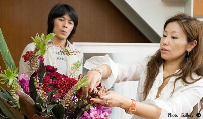 和気雅美│花束を買ってきて、自分でアレンジして生けそう(前編)