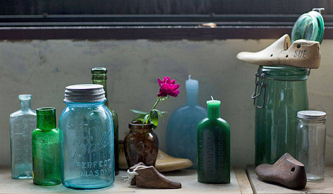 PRODUCTS|インテリアスタイリスト・神林千夏が手がける「bottle candle」