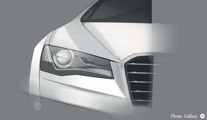 Audi A8 次世代アウディのデザインを具現