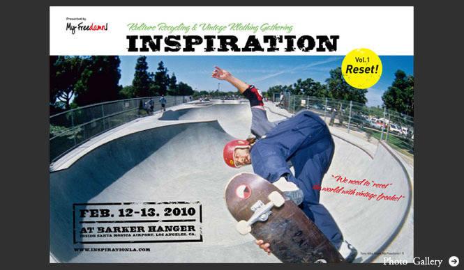 田中凜太郎 『My Freedamn!』の発展系イベント「INSPIRATION」開催!(その1)