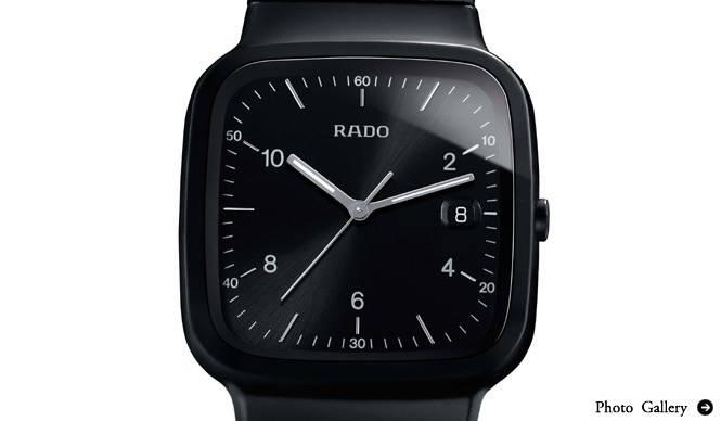 RADO|オールブラックのセラミックスモデルに注目!