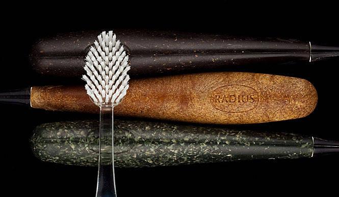 RADIUS ずっと使えるグリップのエコ歯ブラシ「ラディウス」