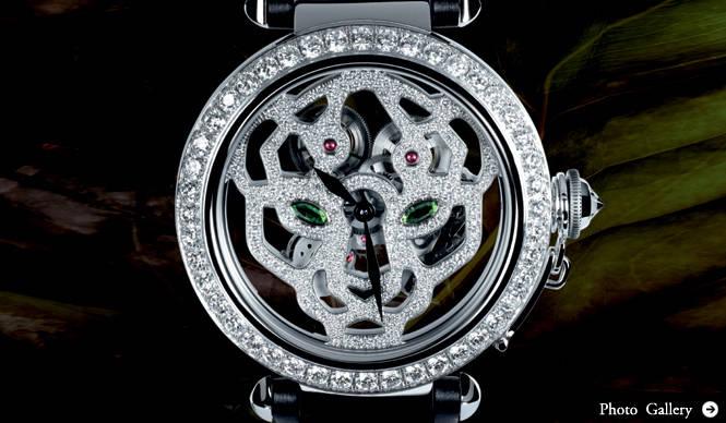 Cartier|パシャ ドゥ カルティエ 43mm パンテール デコール スケルトン