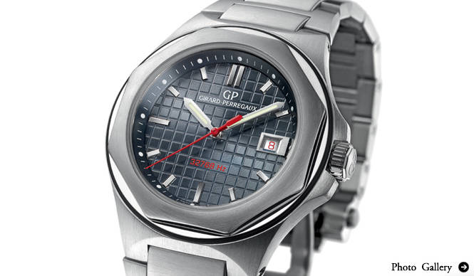GIRARD PERREGAUX|S.I.H.H.2010|ロレアート クォーツ40周年モデル