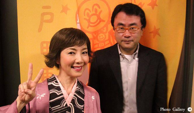 戸田恵子|2月7日。「なにわバタフライN.V」初日──