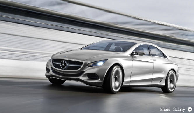 Mercedes-Benz F800 Style 次期型CLSを示唆するコンセプトカー