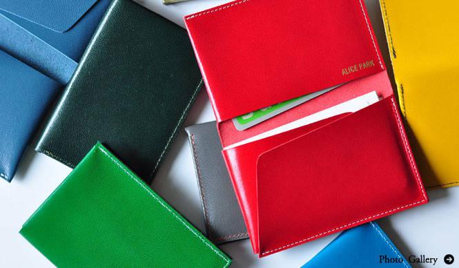 ALICE PARK|「アリス・パーク」のカードケース「Folding Card Case」
