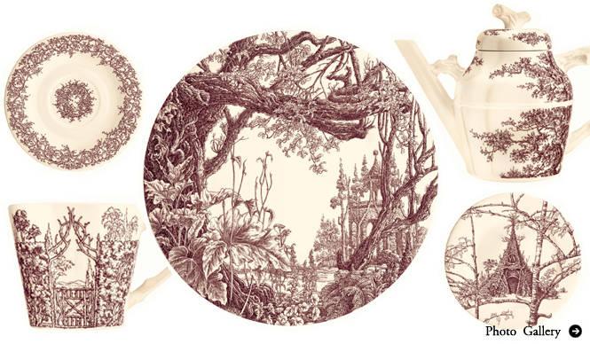 HERMÈS|エルメスの新作テーブルウェア 「メゾン アンシャンテ」