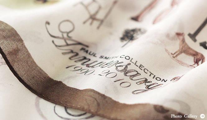 Paul Smith COLLECTION│20周年スペシャルアクセサリーアイテム発売