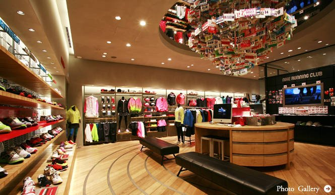 ランニング特集 国内最大の直営店 『NIKE 原宿』